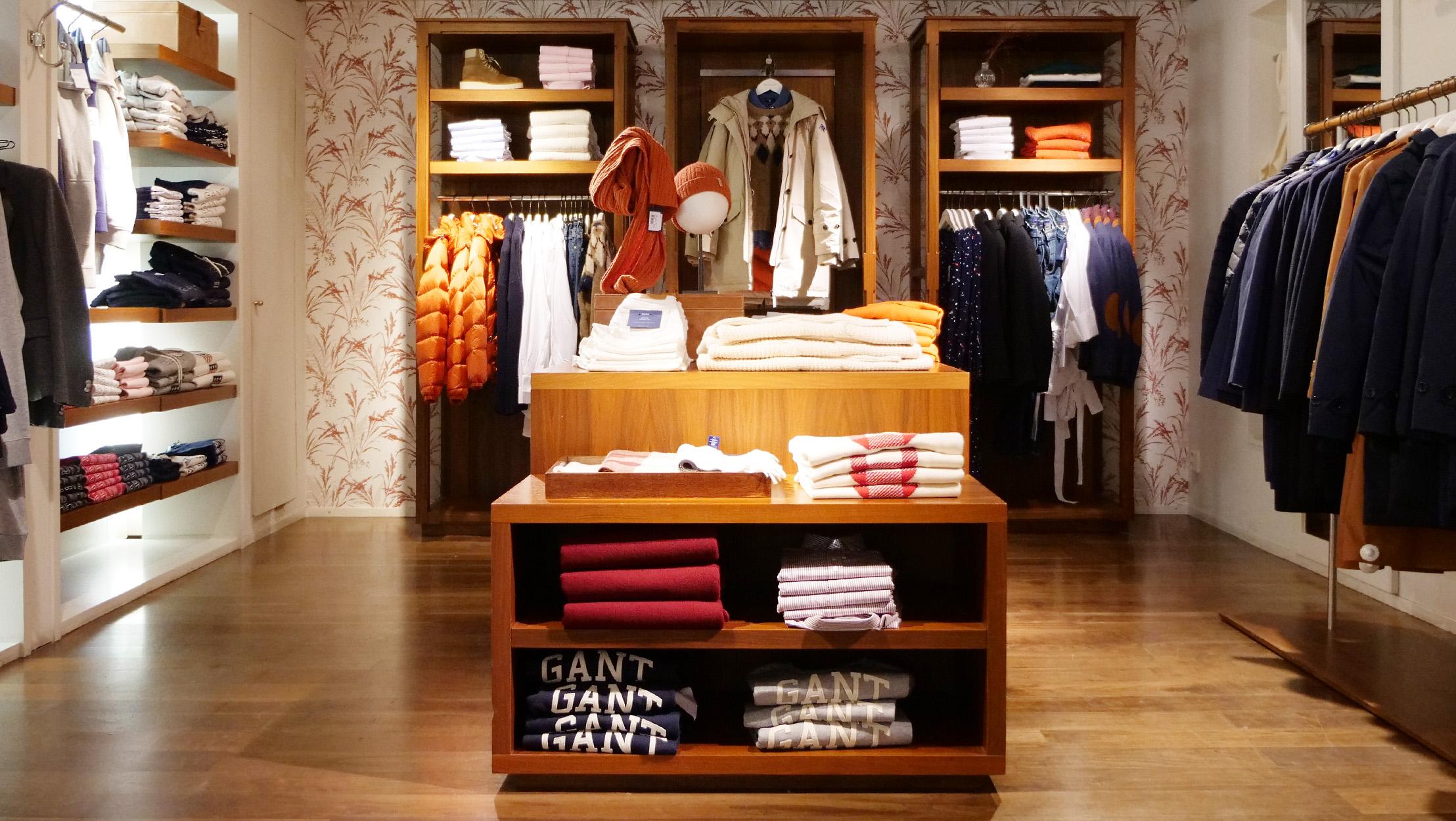 GANT Store | Krämaren i Örebro City | Kläder och inredning
