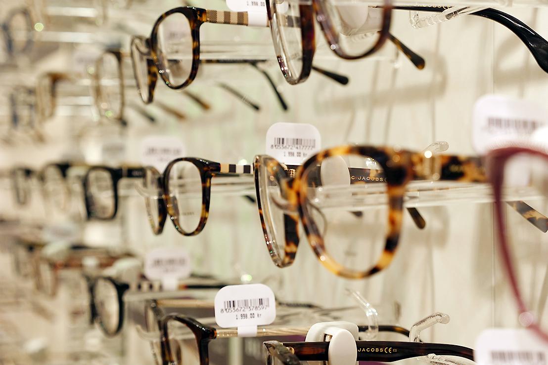Synoptik i Vågen i Örebro centrum - Brett sortmiment av glasögonbågar d24234ef727c6